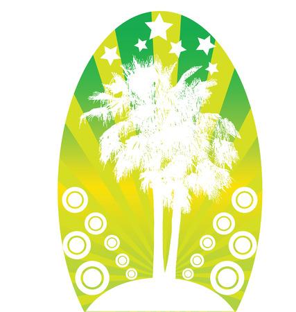tropical logo Vector