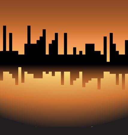 skyline logo Vector