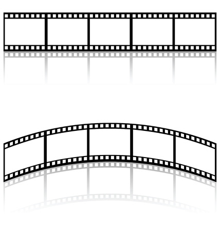 filmstrip templates  Vector