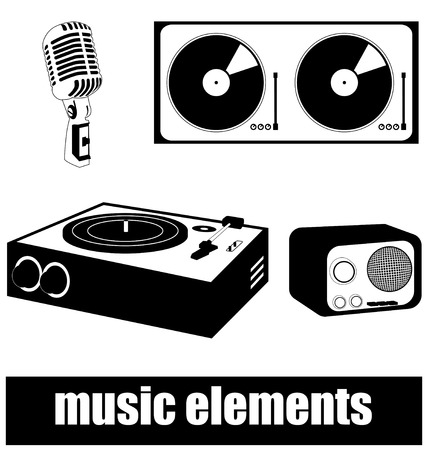 music elements Vector