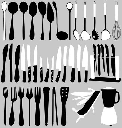 household objects set Illustration