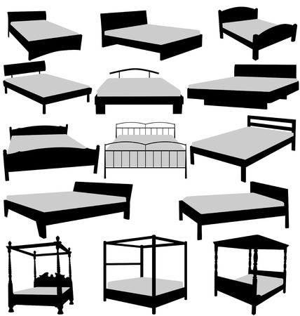 beds sollection Vector