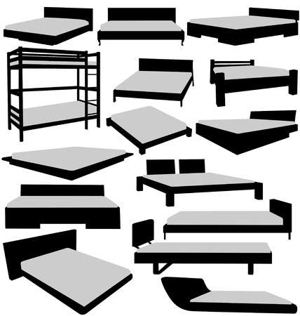 dormir habitaci�n: conjunto de camas