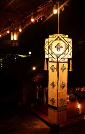 papierlaterne: Thailand Lampion Lizenzfreie Bilder