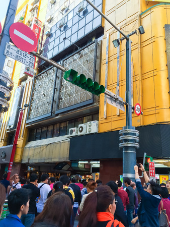 popularity: Taipei City, Taiwan - November 22, 2016: Ximending is the source of Taiwans fashion, subculture, and Japanese culture. Ximending has a host of clubs and pubs in the surrounding area.