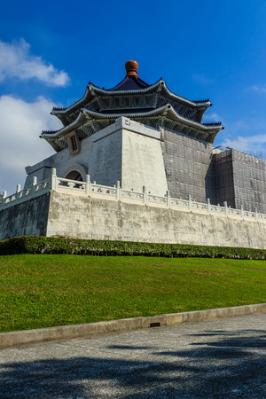 The National Chiang Kai-shek Memorial Hall is a national monument, landmark and tourist attraction erected in memory of Chiang Kai-shek, former President of the Republic of China. It is located in Zhongzheng District, Taipei, Taiwan.