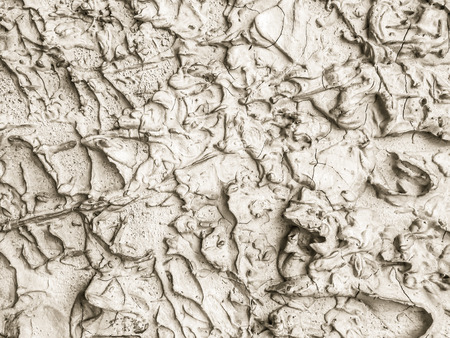 Abstract stucco mortar plastered wall texture with colorful and rough surface background Stock Photo