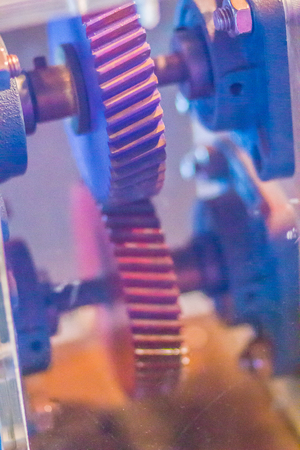 Sample product set of helical gear. Helical or