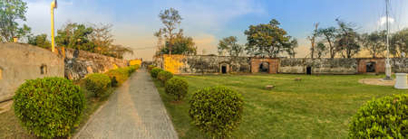 Phi Sua Samut Fortress or Pom Phi Sua Samut is a fortress island on the Chao Phraya river and now being turned into a tourist attraction.
