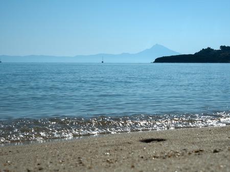 The Aegean sea. Greece, Halkidiki Stock Photo