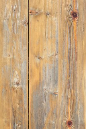 Old wood texture, natural pine wood background with knots, Natural aged wood texture Wallpaper