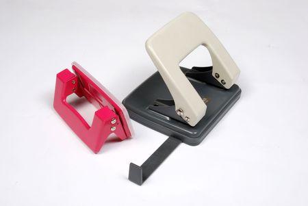 staple: Staple and puch machine