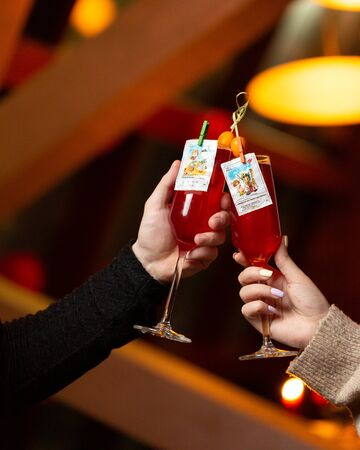 funny paired cocktails