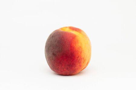 fresh peach on the table