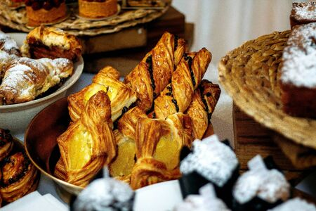 various bakery with jam filling 版權商用圖片