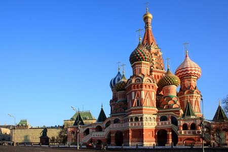 St Basils Cathedral, red Square, Moscow, Russia
