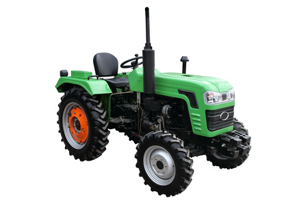 agronomics: Green tractor separately