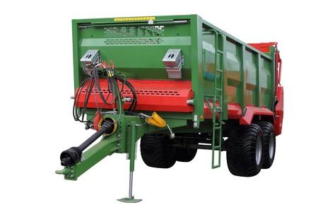 tracteur remorque moderne tracteur semi remorque isol sur fond blanc banque dimages