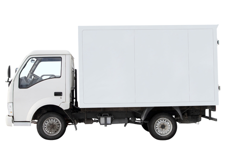 City truck for transporting small loads.