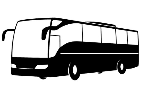 Vector illustration of a modern bus.