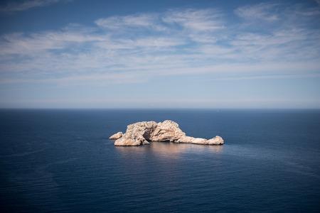 Mer nature paysage à Ibiza Banque d'images