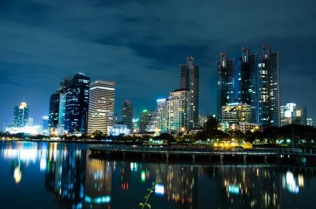 night view ,Bangkok Thailand