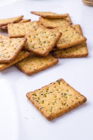 full of holes: Cracker