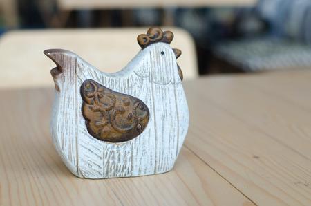 ceramic: ceramic chicken