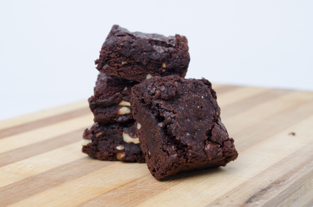 brownies: Chocolate Brownies Stock Photo
