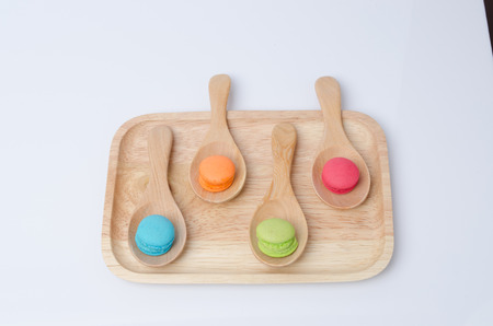 Colorful mini macaron