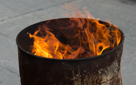 Ancestor Worship on Chinese New Year and burning paper gold