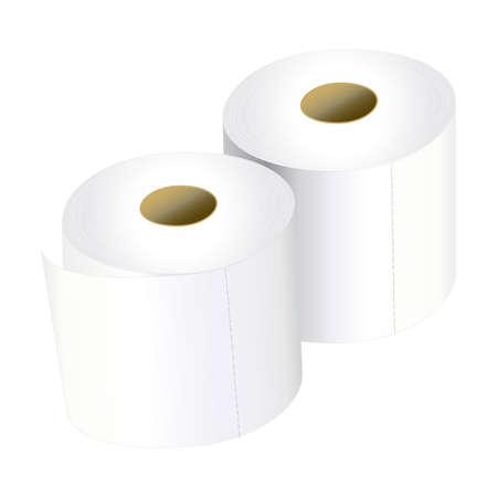 toilet roll: Tissue, Toilet paper roll Illustration