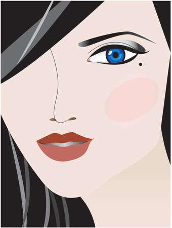 make up face: Make up face