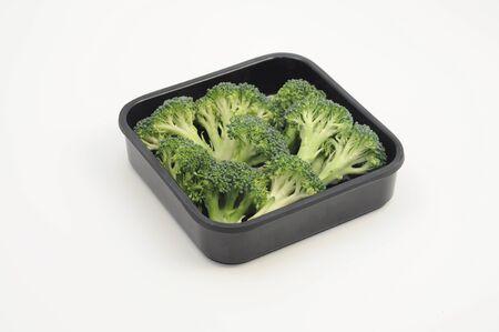 Broccoli in a plate Standard-Bild