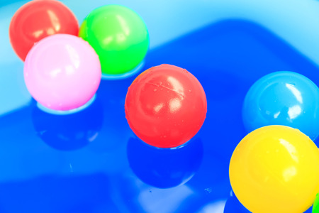 color balls: Color balls in the pool