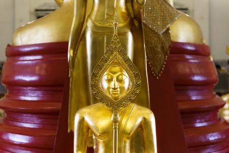 chachoengsao: Buddha statue in public temple, Wat Sothon Wararam Worawihan, Chachoengsao