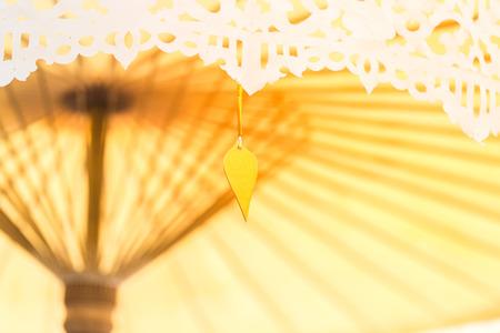 decorate: Thai umbella decorate in wedding