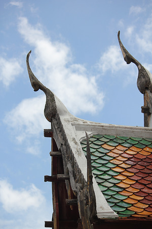 temple thailand. photo
