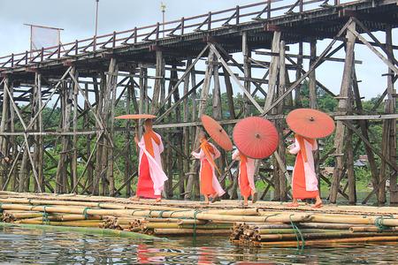 Nuns at the Mon Bridge.