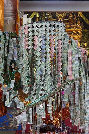 merit: money and merit makings Stock Photo