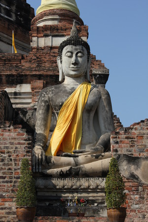 Buddha in Ayutthaya photo