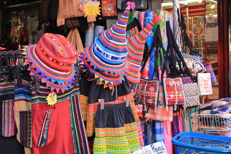 soft sell: Colorful hand-woven costume