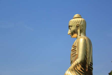 handsign: Buddha in Thailand (buddha, statue) Stock Photo