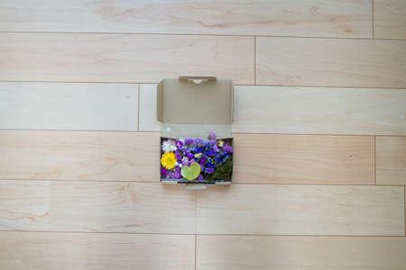 Dried flowers made at home Фото со стока