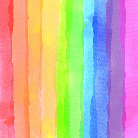 red stripe: Abstract watercolor background