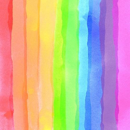 rayas de colores: Fondo de acuarela abstracta