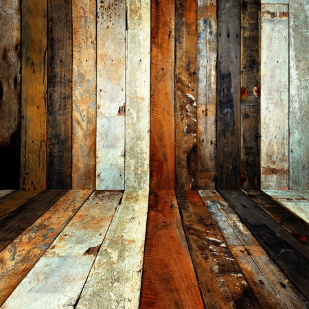 Wood wall background. photo