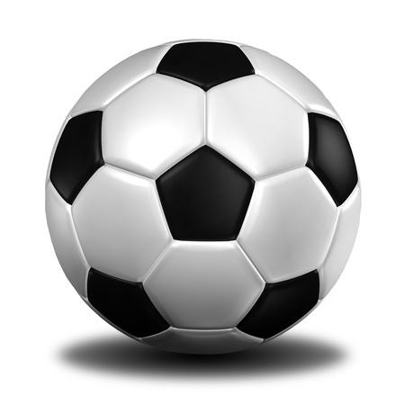 football symbol: football with shadow.