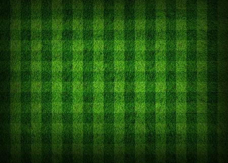 pasto sintetico: campo de f�tbol hierba Foto de archivo