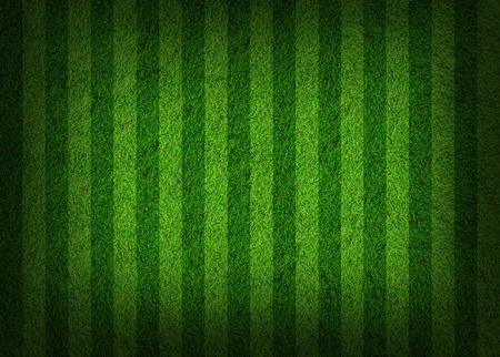 synthetic: football grass field Stock Photo